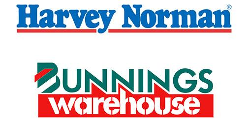 Bunnings Warehouse Harvey Norman