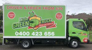 Little Green Truck Bella Vista